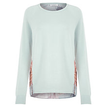 Buy Kaliko Canvas Rose Jumper, Blue Online at johnlewis.com