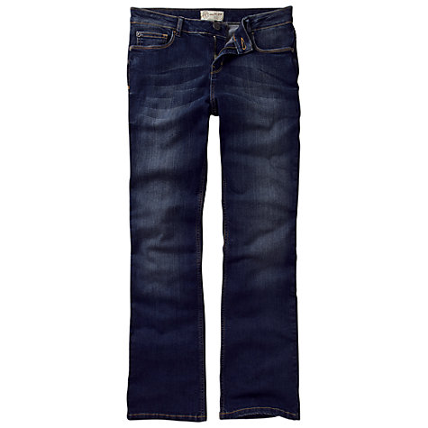 Buy Fat Face Smithy Bootcut Darkest Rinse Jeans, Denim Online at johnlewis.com
