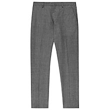 Buy Reiss Becks Wool Blend Trousers, Grey Online at johnlewis.com