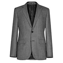 Buy Reiss Becks B Two Button Blazer, Grey Online at johnlewis.com