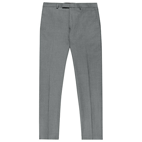 Buy Reiss Fairline Wool Mohair Suit Trousers, Light Grey Online at johnlewis.com