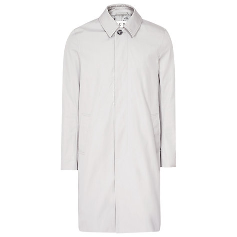 Buy Reiss Curzon Concealed Placket Mac Online at johnlewis.com