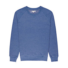 Buy Reiss Codey Crew Neck Jumper, Bright Blue Online at johnlewis.com