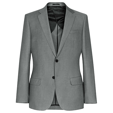 Buy Reiss Fairline Wool Mohair Suit Jacket, Light Grey Online at johnlewis.com
