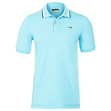 Buy Napapijri Taly Short Sleeve Stretch Polo Shirt Online at johnlewis.com