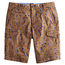 Buy Joules Fenlow Cargo Chino Shorts, Brown Online at johnlewis.com