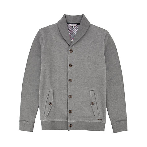 Buy Ted Baker Berden Shawl Collar Cardigan, Navy Online at johnlewis.com