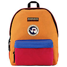 Buy Napapijri Voyage Colour Block Backpack, Multi Online at johnlewis.com