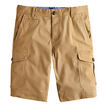 Buy Joules Fenlow Cargo Chino Shorts, Dark Chino Online at johnlewis.com