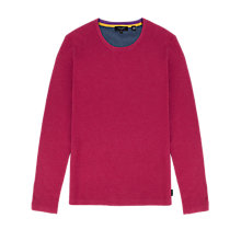 Buy Ted Baker Kales Textured Crew Neck Jumper Online at johnlewis.com