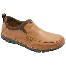 Buy Rocsports Lite 2 Moc Toe Slip On Shoes, Tan Online at johnlewis.com