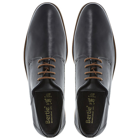 Buy Bertie Camberwell Derby Leather Shoes Online at johnlewis.com