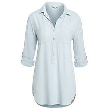 Buy Ghost Debbie Blouse, Light Grey Online at johnlewis.com
