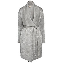 Buy Ghost Mika Coat, Silver Online at johnlewis.com