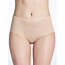 Buy Hanro Cotton Seamless Midi Briefs, Skin Online at johnlewis.com