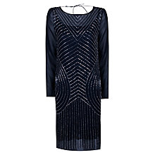 Buy True Decadence Symmetrical Sparkle Dress, Navy Online at johnlewis.com