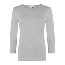 Buy Hobbs Liza Top, Grey Marl Online at johnlewis.com