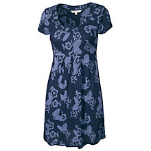 Buy Fat Face Penny Butterfly Tunic Dress, Navy Online at johnlewis.com