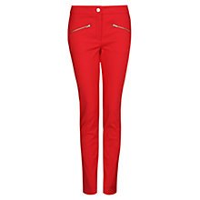 Buy Mango Zip Stretch Trousers Online at johnlewis.com