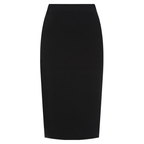 Buy Hobbs Kiana Skirt, Black Online at johnlewis.com