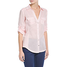 Buy Mango Ribbed Panel Shirt Online at johnlewis.com