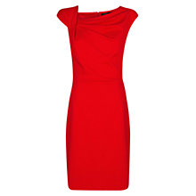 Buy Mango Textured Drape Dress Online at johnlewis.com