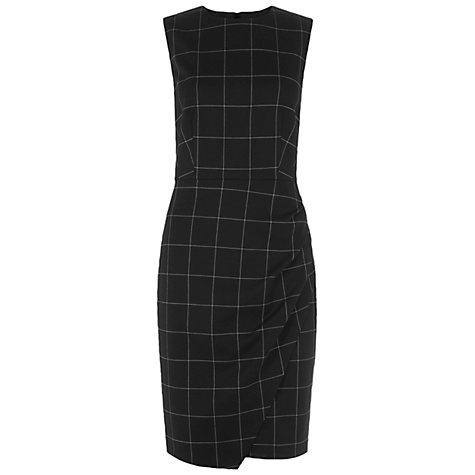 Buy Hobbs Laurie Dress, Black/Ivory Online at johnlewis.com