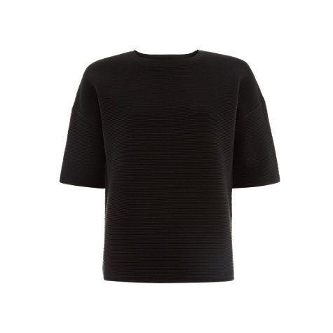 Buy Hobbs Kiana Top, Black Online at johnlewis.com