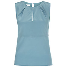 Buy Hobbs Invitation Etoile Top, Kingfisher Blue Online at johnlewis.com