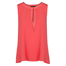 Buy Mango Double Layer Chiffon Blouse Online at johnlewis.com