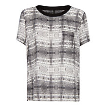 Buy Mango Patch Pocket Top, Black Online at johnlewis.com