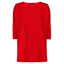 Buy Mango Dolman Sleeve Top, Bright Red Online at johnlewis.com