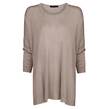 Buy Mango Flowy Sweater Top Online at johnlewis.com
