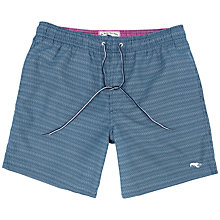 Buy Ted Baker Flitt Herringbone Swim Shorts, Navy Online at johnlewis.com