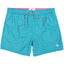 Buy Ted Baker Vilor Arrow and Stripe Swim Shorts, Bright Green Online at johnlewis.com