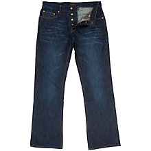 Buy Ted Baker Barras Bootcut Jeans, Dark Wash Online at johnlewis.com