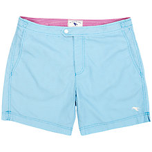 Buy Ted Baker Gatley Geometric Swim Shorts, Blue Online at johnlewis.com