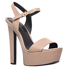 Buy KG by Kurt Geiger Heidi Leather Sandals Online at johnlewis.com
