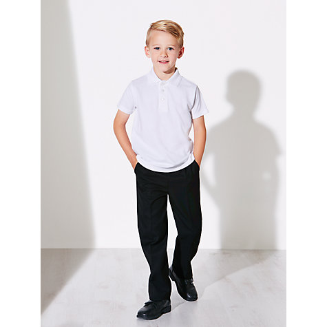 Buy John Lewis Unisex 100% Pure Cotton Polo Shirt, Pack of 2 Online at johnlewis.com