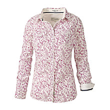 Buy Fat Face Classic Fit Check Shirt, Ivory Online at johnlewis.com