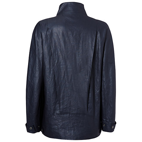 Buy Jaeger Chintz Linen Biker Jacket Online at johnlewis.com
