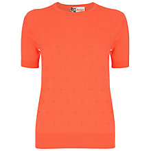 Buy Boutique by Jaeger Mini Bobble Jumper, Bright Coral Online at johnlewis.com