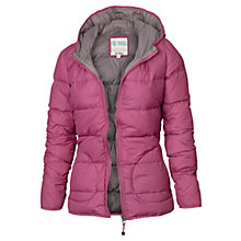 Buy Fat Face Lauren Lightweight Puffer, Rouge Online at johnlewis.com