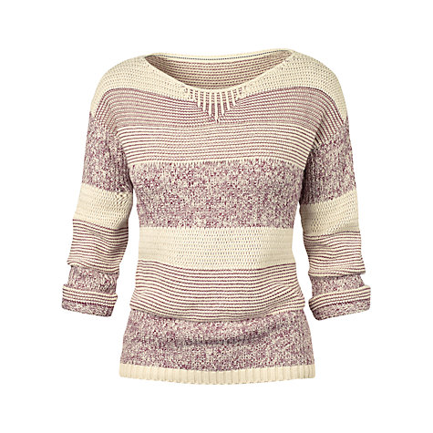 Buy Fat Face Lucky Textured Jumper Online at johnlewis.com