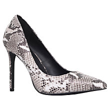 Buy KG by Kurt Geiger Bailey Leather Pointed Court Shoes Online at johnlewis.com