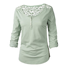 Buy Fat Face Liera Henley Tee Online at johnlewis.com