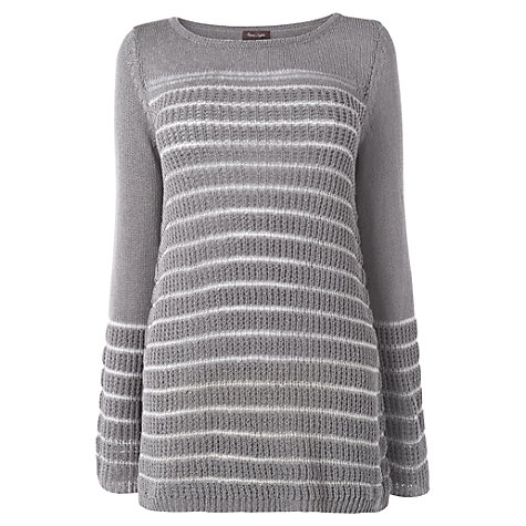 Buy Phase Eight Blossom Block Jumper, Grey/Ivory Online at johnlewis.com