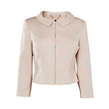 Buy Phase Eight Alice Jacket, Porcelain Online at johnlewis.com