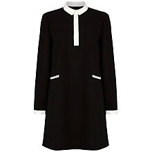Buy Boutique by Jaeger Crepe Shirt Dress, Black Online at johnlewis.com