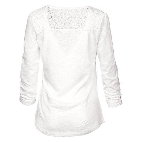 Buy Fat Face Liera Henley T-Shirt Online at johnlewis.com